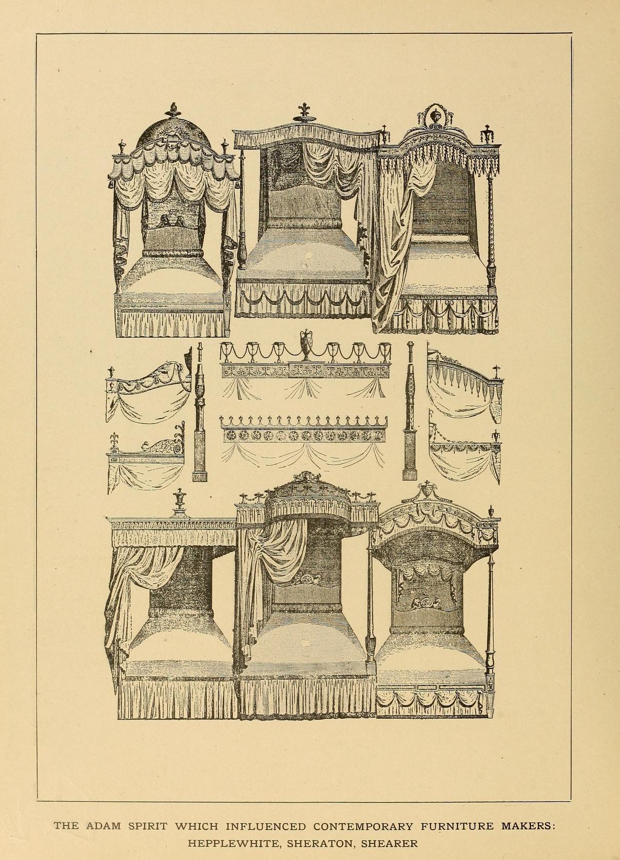 Period furnishings; an encyclopedia of historic...