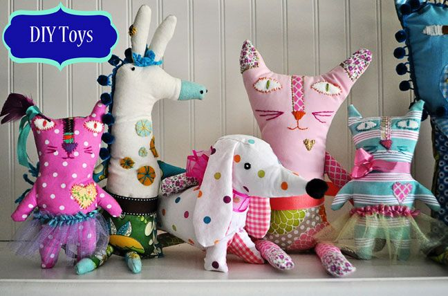 Make Your Own Soft Toys A Beginner S Guide To Inventing Softies