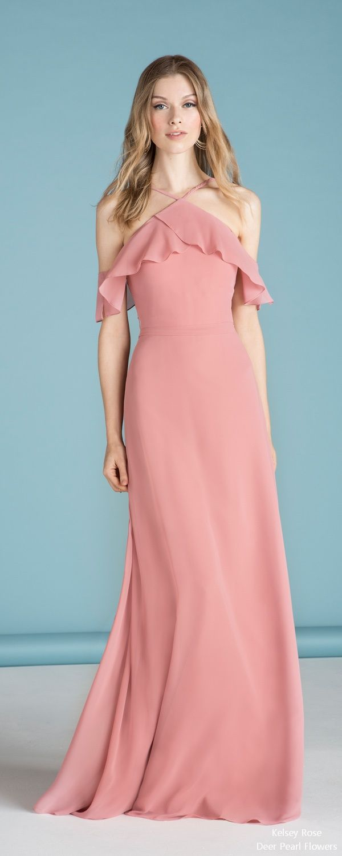 5 Bridesmaid Dress Designers We Love for 2018 | Vestiditos, Cortejo ...