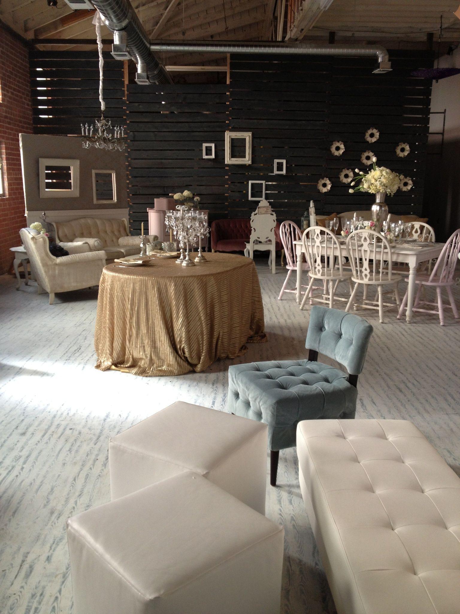 Vintage Rental Showroom Google Search Event Rentals Showroom Wedding Rentals Decor Showroom Interior Design