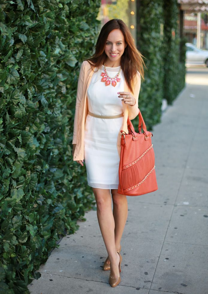 5 Ways to Style Your Sheath Dress for the Office | Bags, Color ...