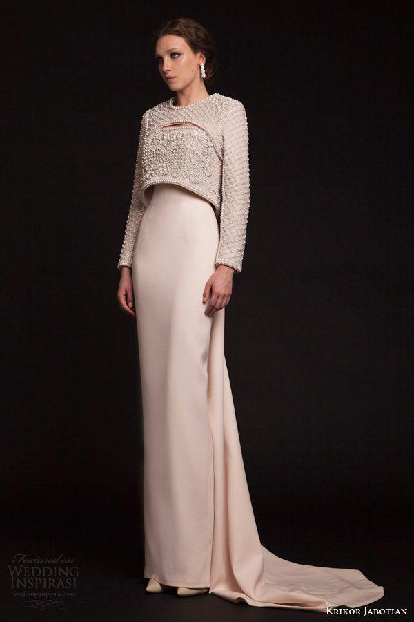 7168a92911d Krikor Jabotian Spring 2015 Dresses — The Last Spring Collection ...