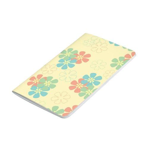 Spring Flowers Pocket Journal
