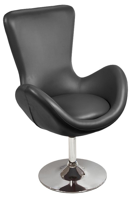 black faux leather lounge swivel chair Product Description The stunning white modern lounge is a great feature piece of furniture for the home  sc 1 st  Pinterest & Chair Seat and Its Benefits | Sofa | Pinterest | Benefit