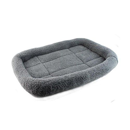 GBSELL Soft Pad Blanket Pet Cat Mat Dog Puppy Warm Bed Cover Sleep Mat Gray ** Click image to review more details.