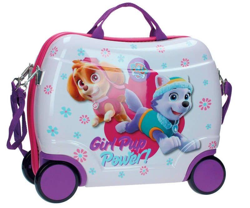70390962a Maleta Patrulla canina ideal para chicas, de Sky ey Everest las perritas de  la patrulla