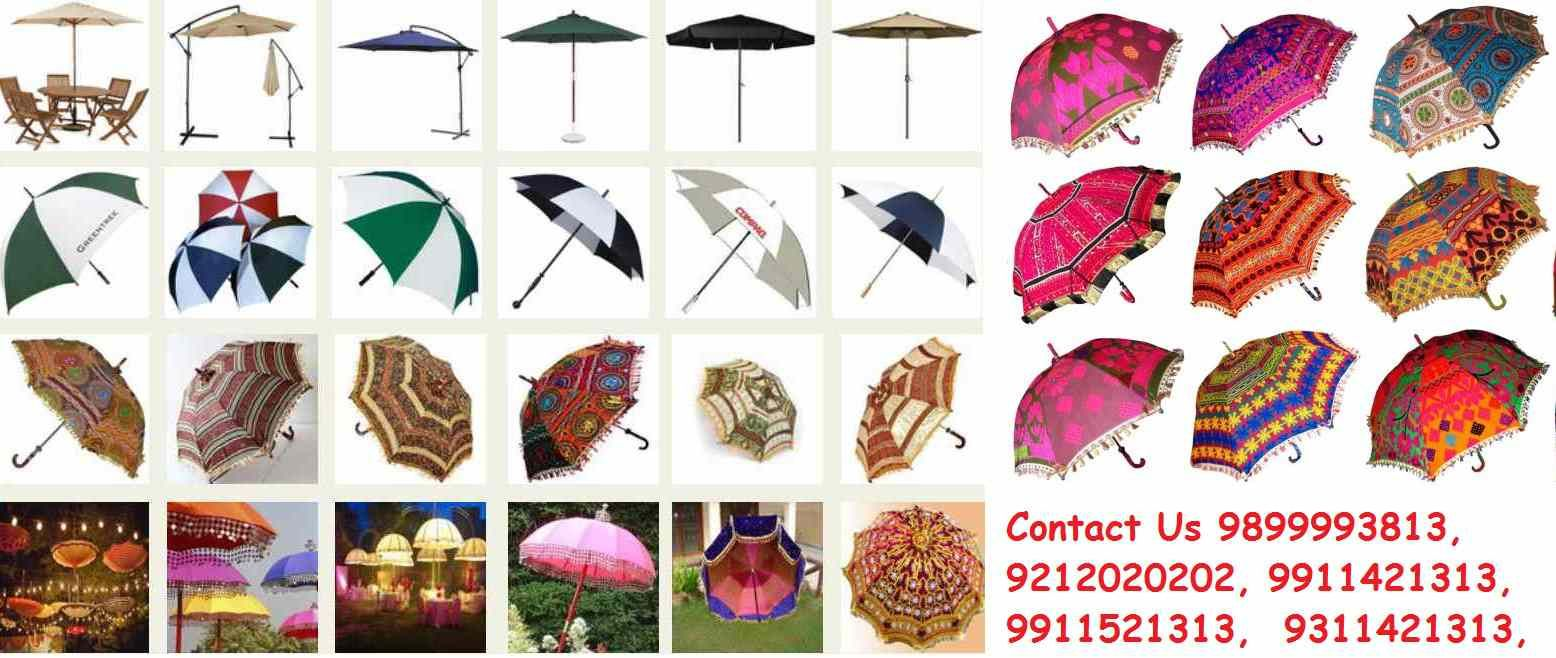 0a6daf5281dd6 Rajasthani Umbrella Online, Manufacturers, Suppliers, Wholesalers, Dealers  in Delhi, India.