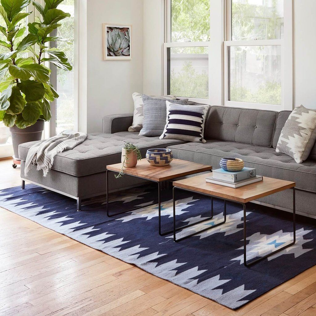 Modular Coffee Table Black The Citizenry Living Room Rug