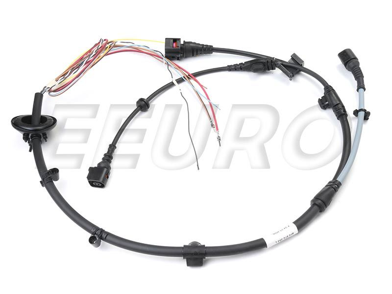 Abs Sensor Wiring Harness Rear Driver Side Genuine Audi Vw