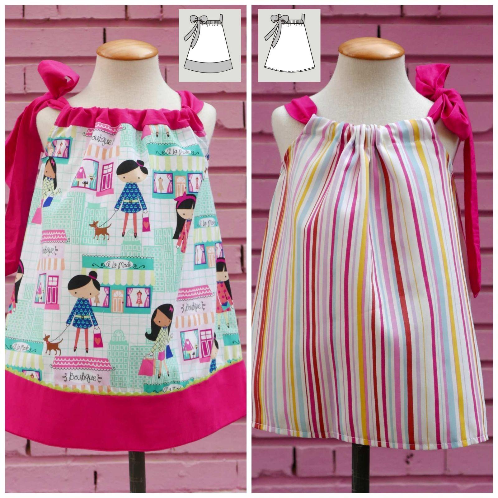 Comprar Vestido Niña Pillowcase en Coloursforbaby.com