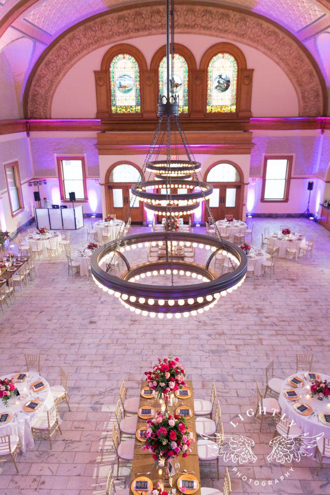 Ashton Depot Reception Fort Worth Weddings Lightly Photography