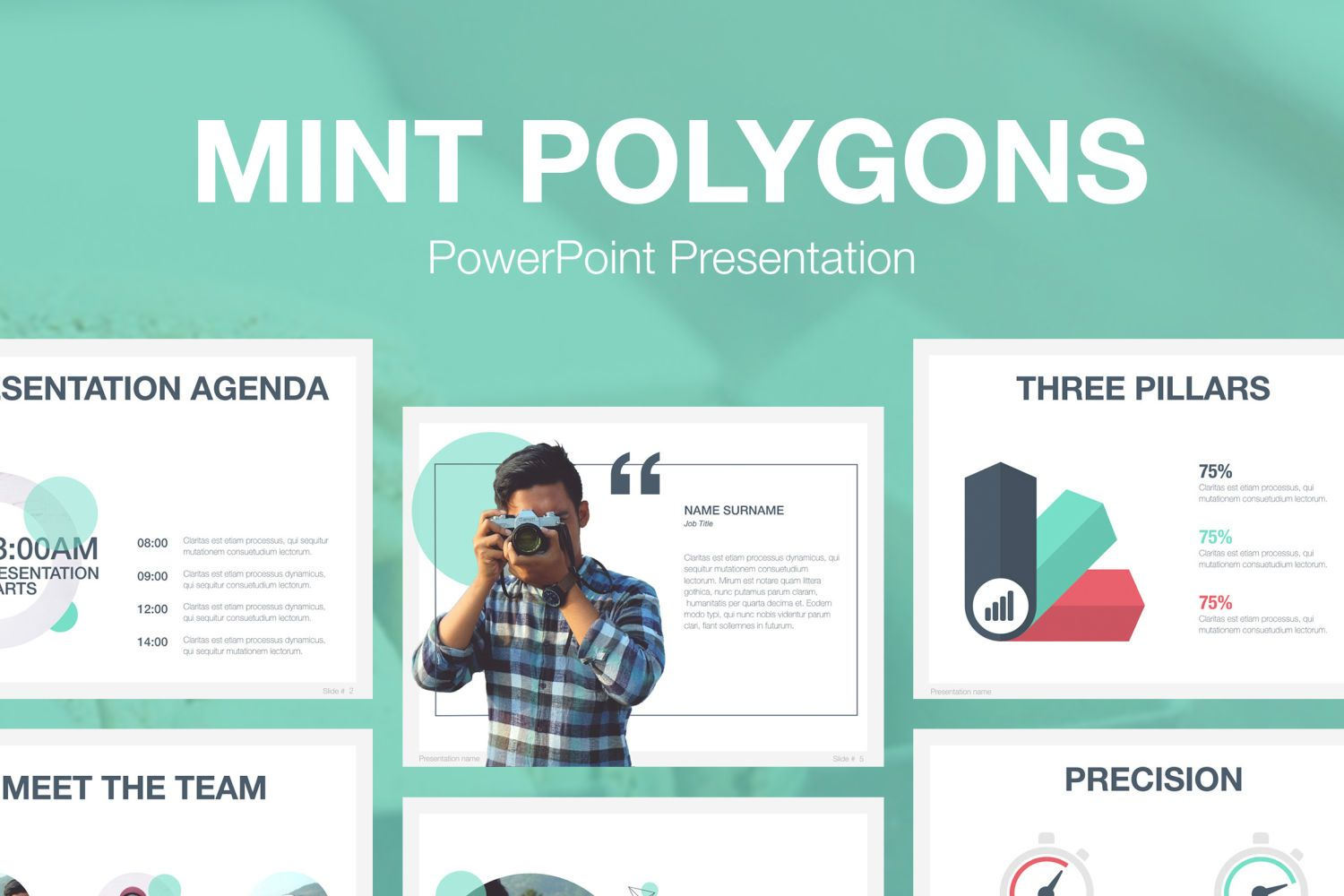 Mint polygons powerpoint template by jumsoft on envato elements mint polygons powerpoint template by jumsoft on envato elements toneelgroepblik Images