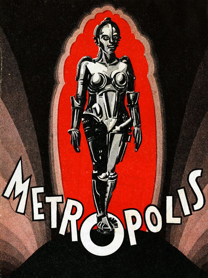 vintagegal:  Poster illustration for the American release ofMetropolis(1927)