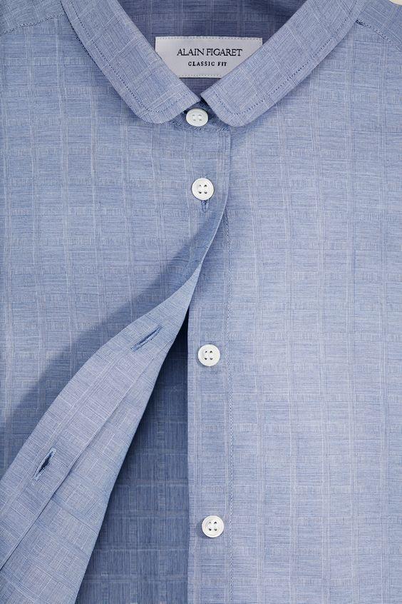 robe chemise alain figaret