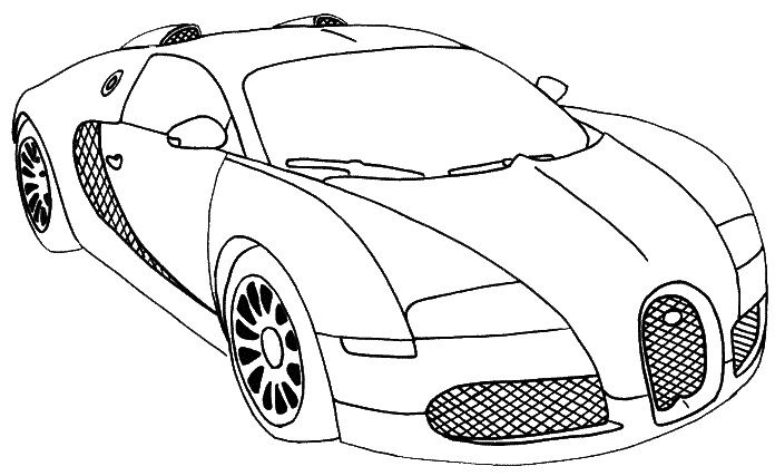 free coloring pages sport cars - photo#13