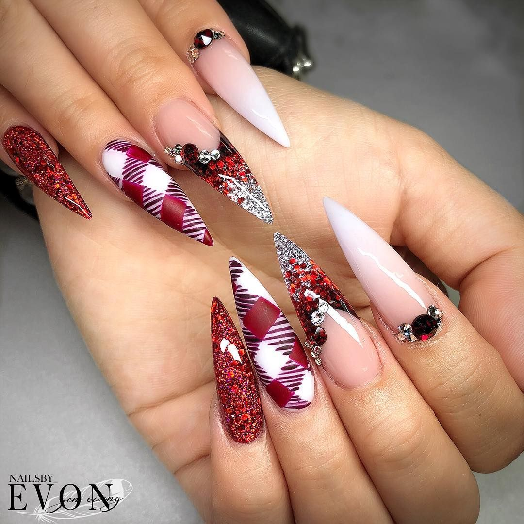 Pin by zina seaborn on Claws bling | Pinterest | Nail nail, Manicure ...