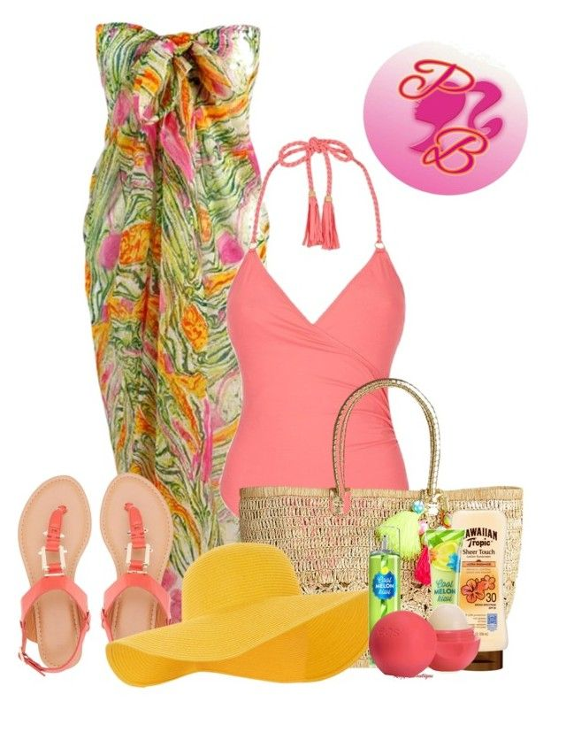 """Untitled #1105"" by gorgeousmama29 on Polyvore featuring Lazul, Bamboo, Lilly Pulitzer, Accessorize, Cool Melon and Eos"