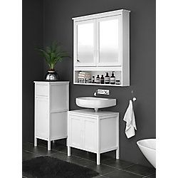 home depot 275 mia double mirror wall cabinet the home on home depot vanity id=41745