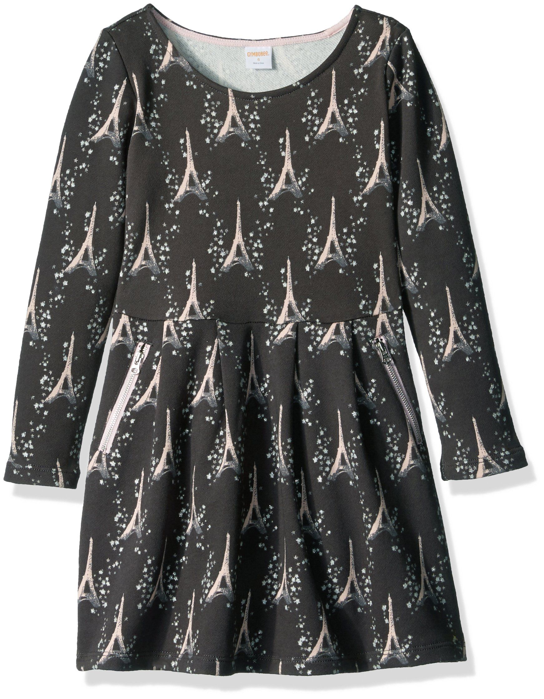 Gymboree big girlsu star print dress multi easy pullover style