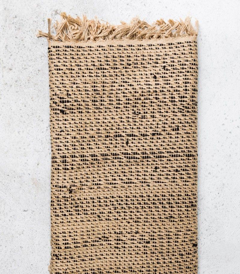 Jutelia Handwoven Jute / Cotton Rug / 160x230cm