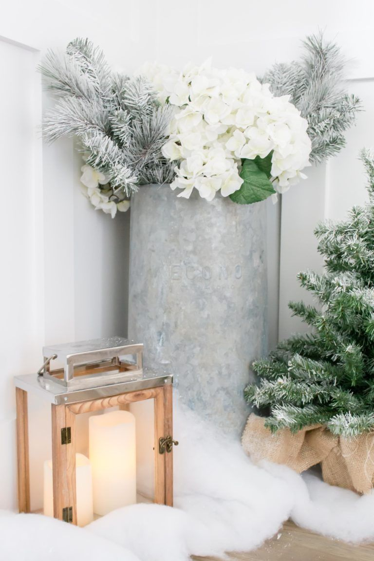 I\'m Dreaming of a White Christmas Holiday Home Tour- Part I | Modern ...