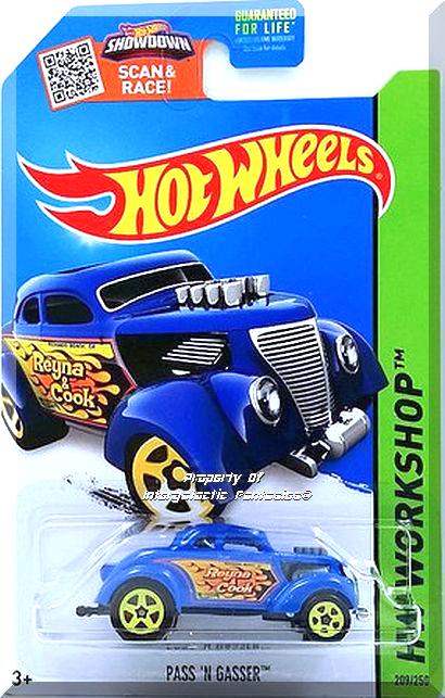 Hot Wheels Pass 'N Gasser HW 2015 Heat Fleet