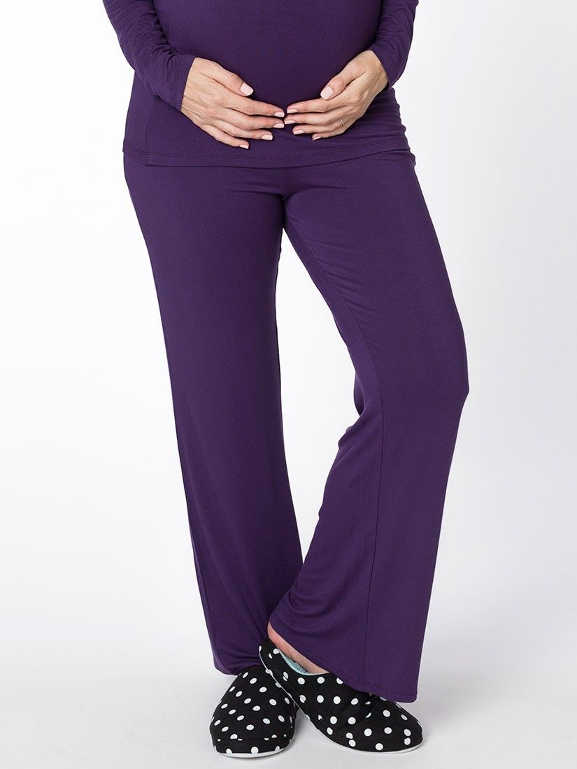 Purple Jama Pants from breastmates.co.nz -- Lounge around in the ...