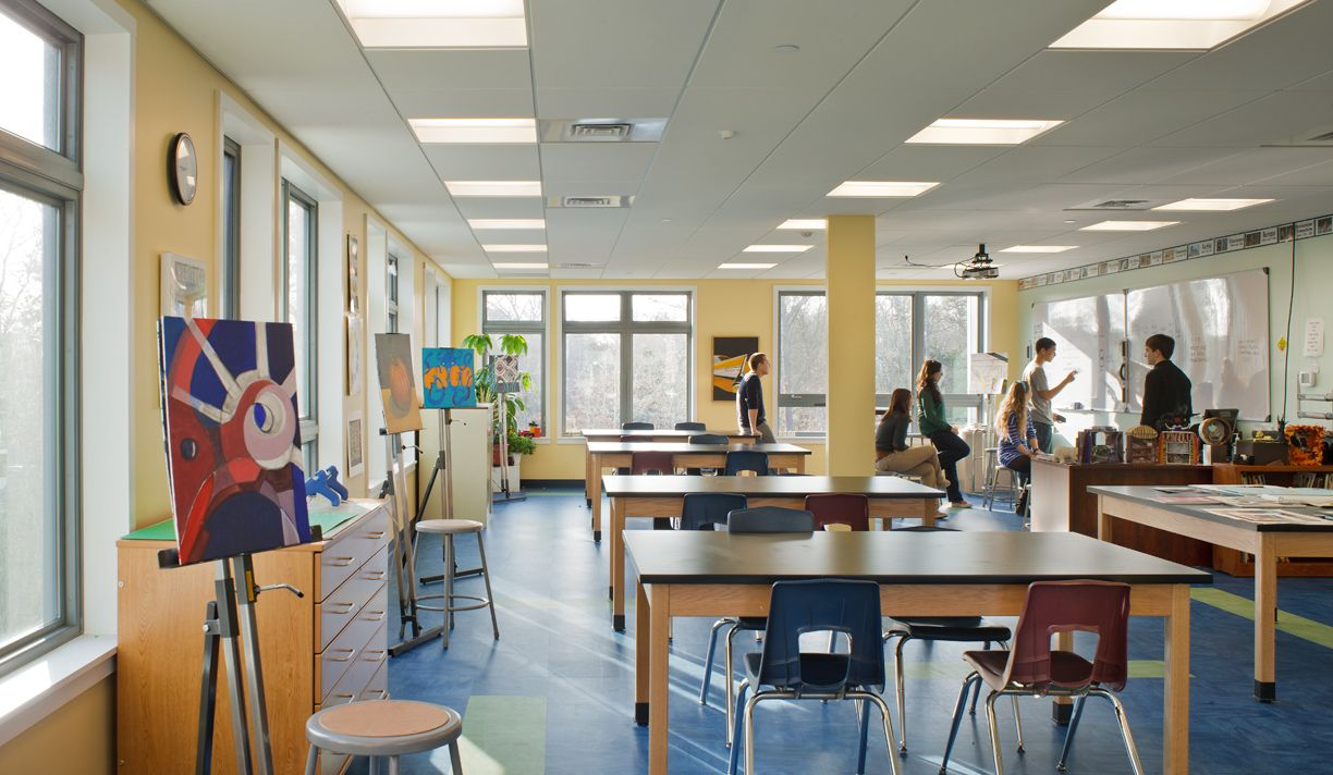 Charming Image Gallery Of High School Art Classroom Design Part 2