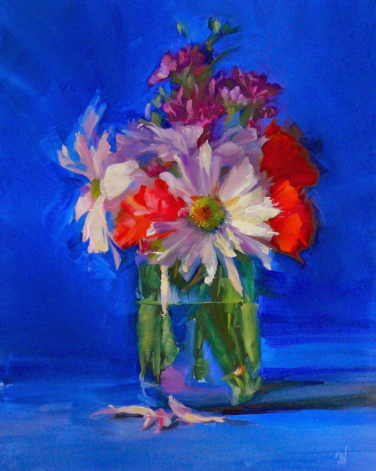 Susan Nally: A Painter's Journal: Fallen Petals ...