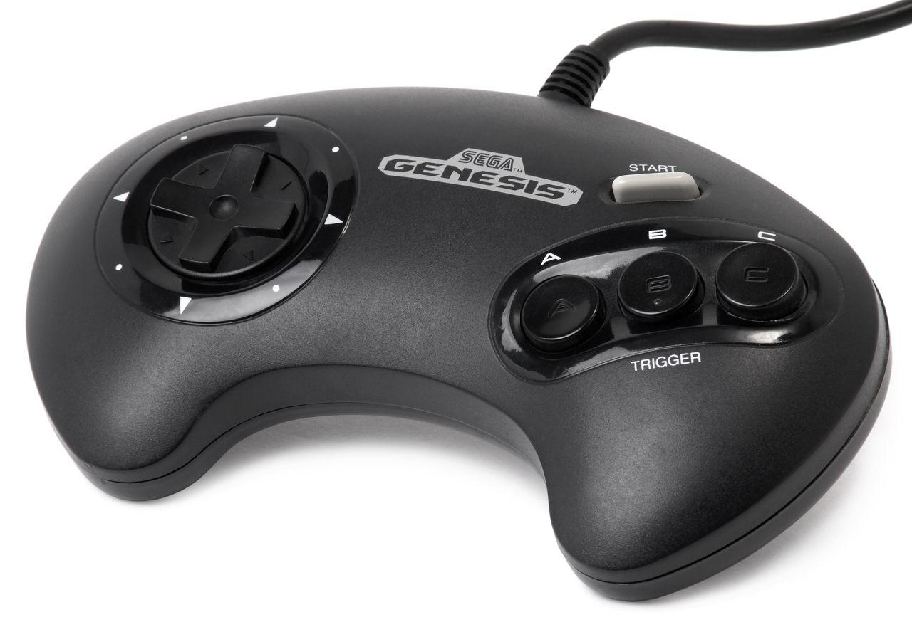Sega Genesis Controller 3 Button Original | Stuff to Buy