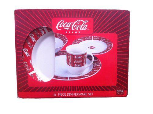 Coca Cola 16 Piece Dinnerware Set 16 Piece Dinnerware Set//  sc 1 st  Pinterest & Coca Cola 16 Piece Dinnerware Set 16 Piece Dinnerware Sethttp://www ...