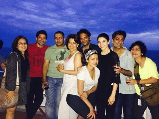 Finally! Anushka Sharma Spotted On Dil Dhadakne Do Cruise.
