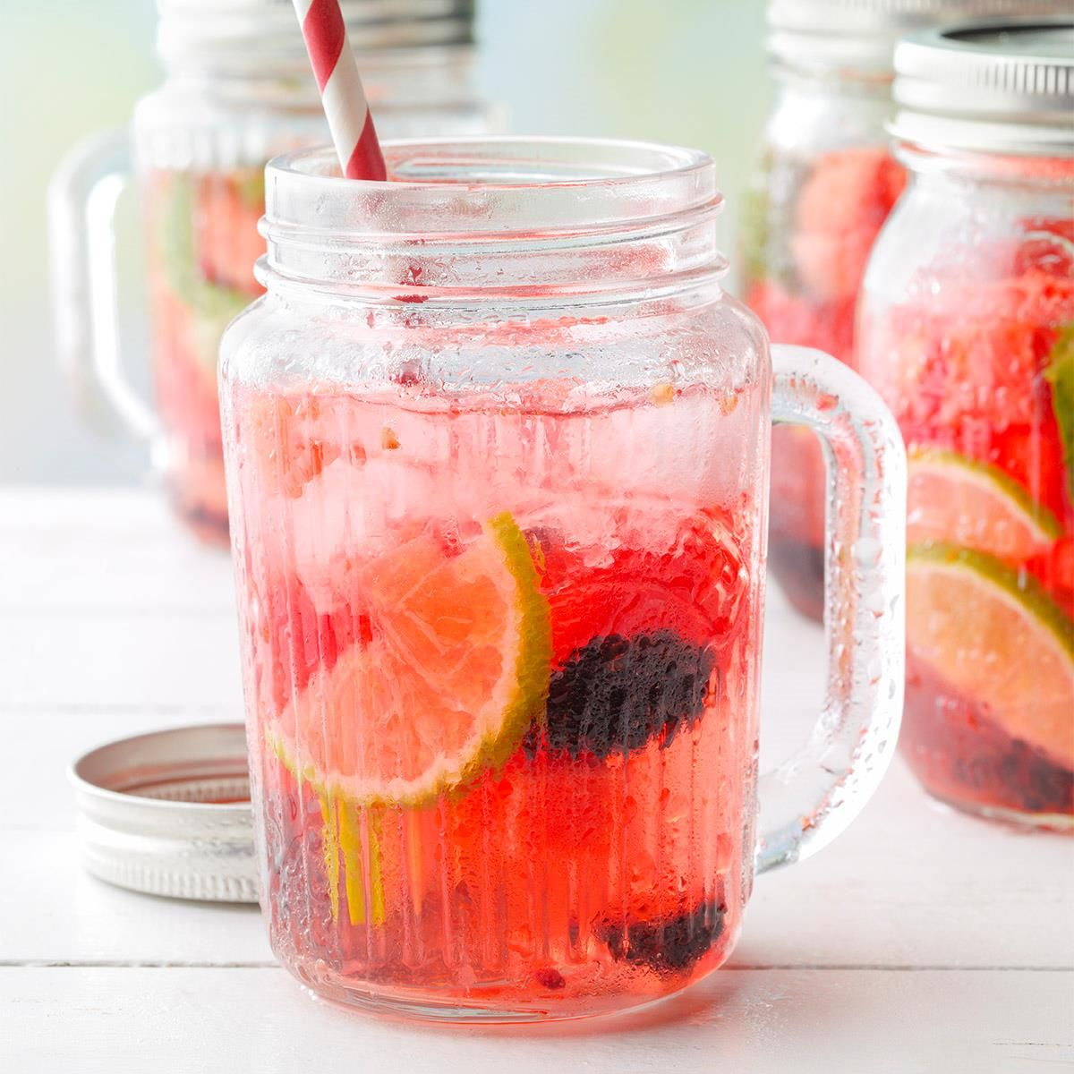 Watermelon And Blackberry Sangria Recipe In 2020 Blackberry Sangria Sangria Recipes Watermelon Sangria