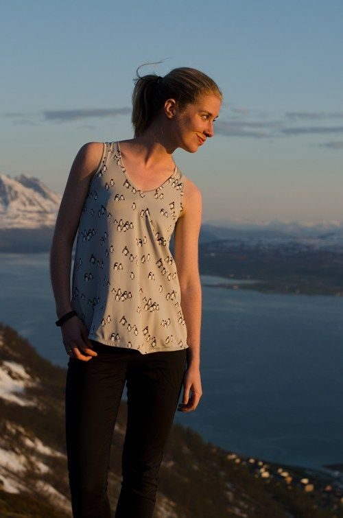 Sew Mariefleur Pony Tank Chalk and Notch