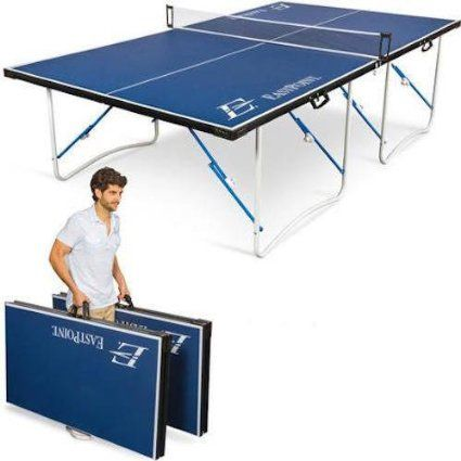 Table Tennis Table Indoor Outdoor Ping Pong Foldable Portable