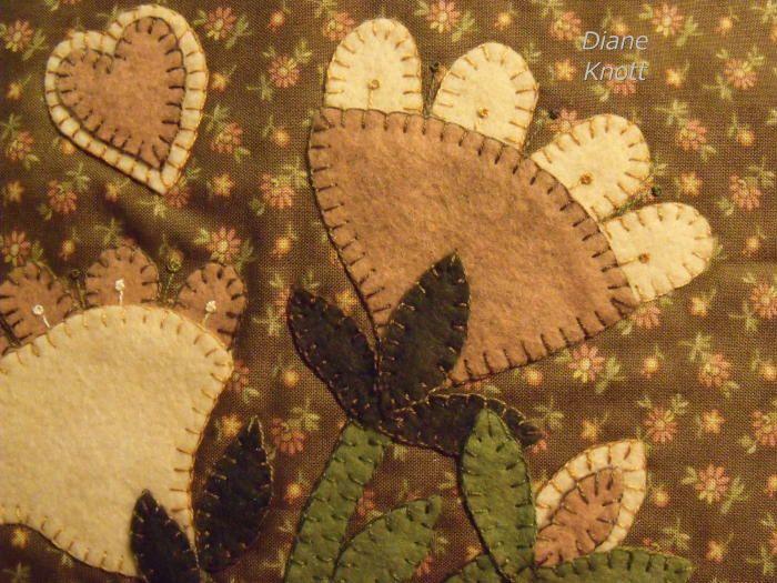 Diane Knott - Prim Flowers