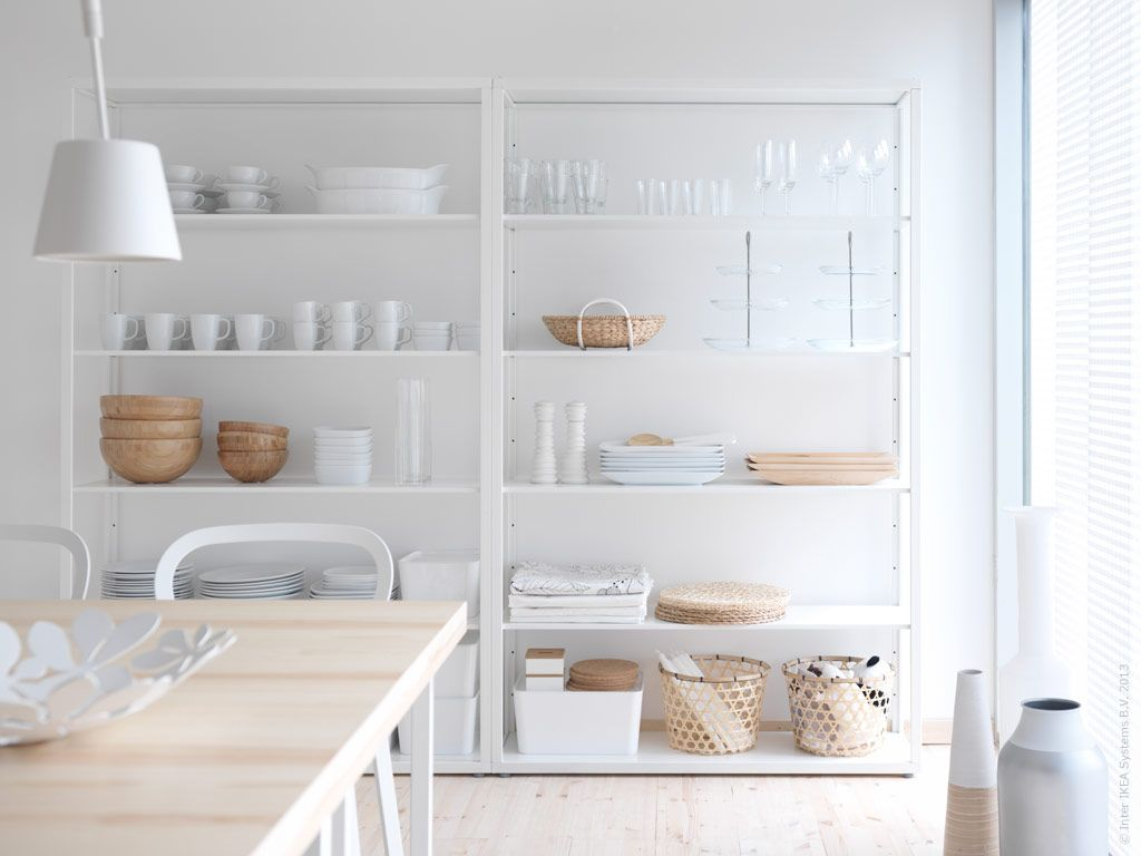 Pin by Mary Clarke on Home Decor Ikea shelving unit