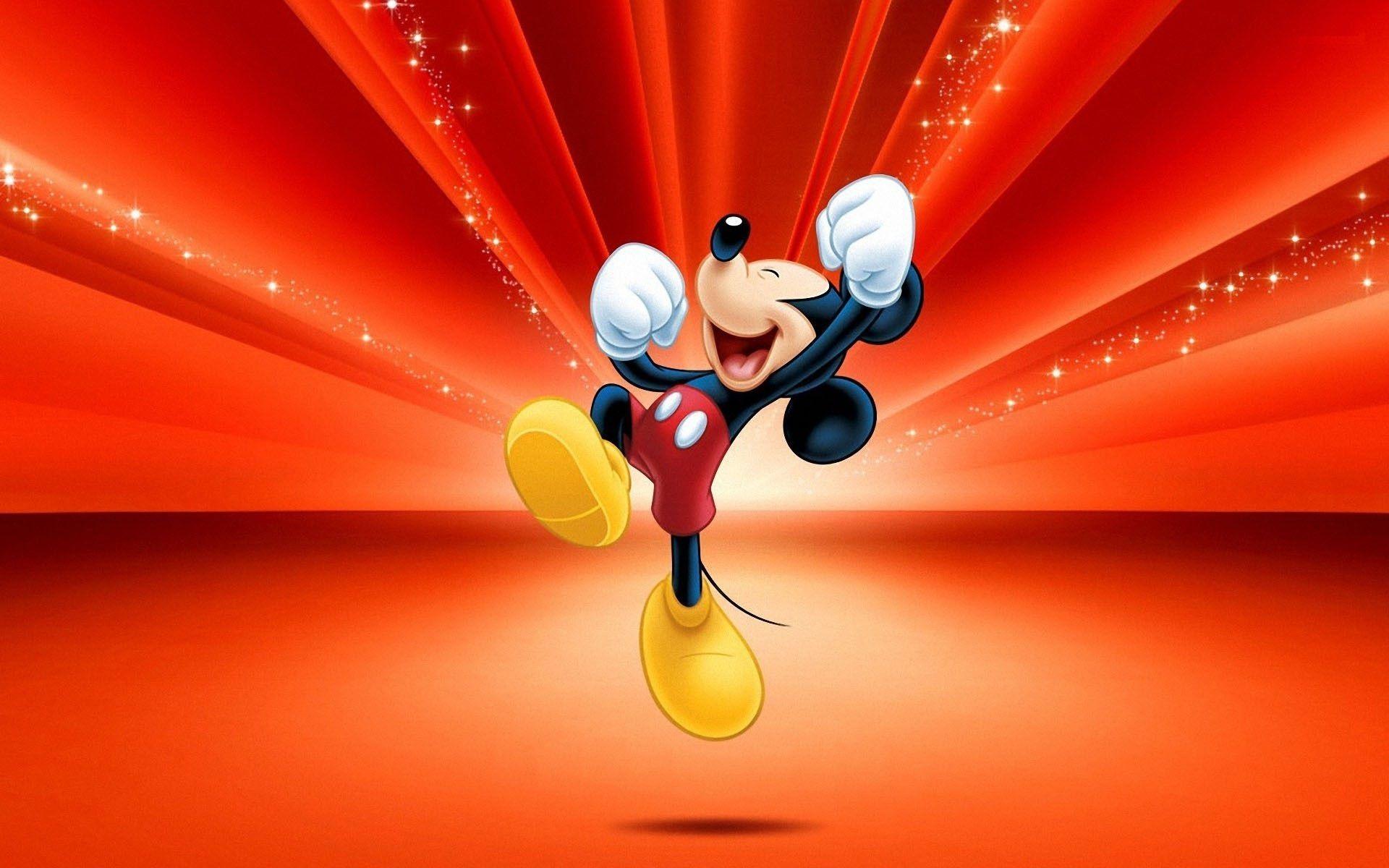 Happy Mickey Mouse HD Wallpaper (con imágenes) Imagenes
