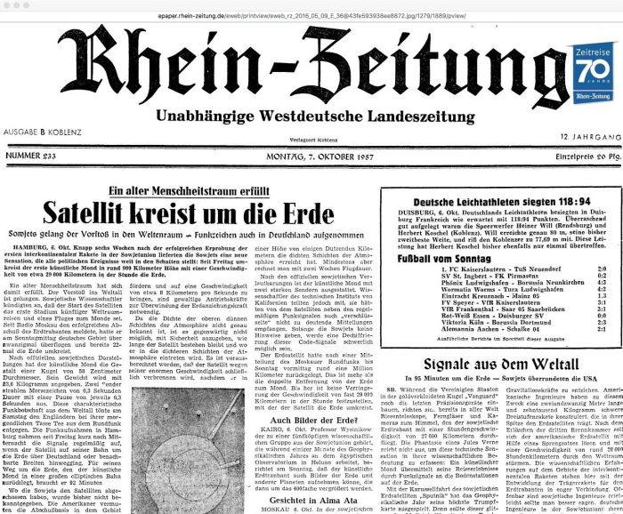 Zeitung Sputnik