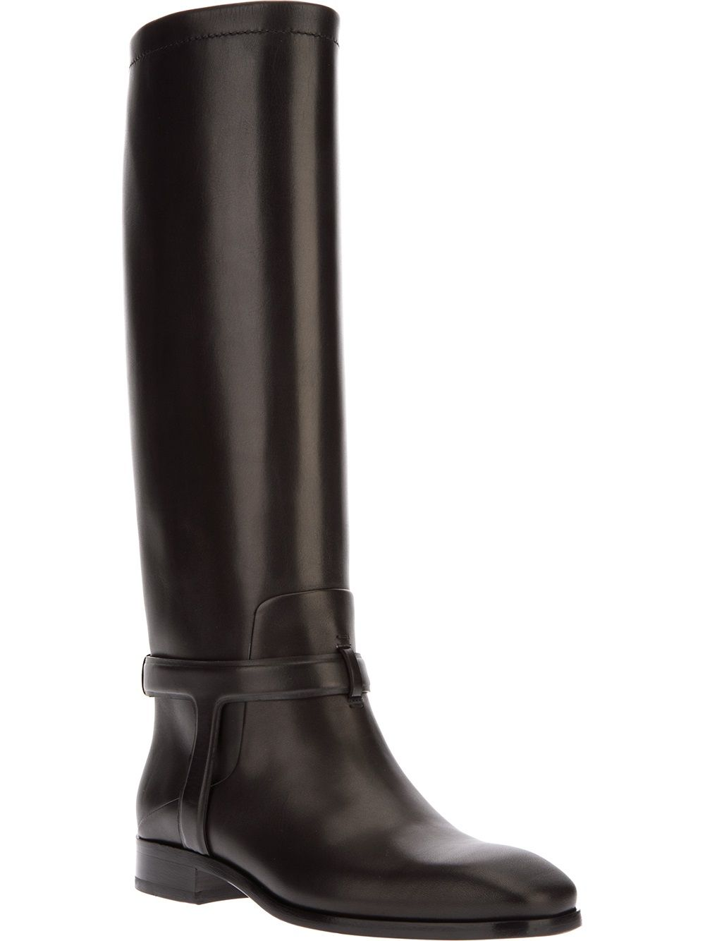 CHRISTIAN DIOR - Black Urbain knee high boot   #christiandior #dior #diorboots #boots #blackboots www.woman.jofre.eu