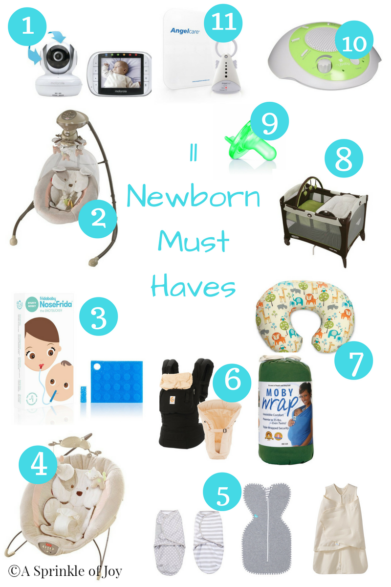 779775a68 Newborn Must Haves