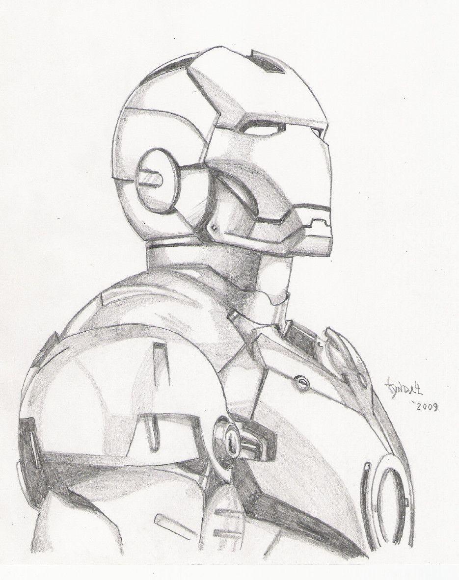 Iron Man Sketch By Tyndallsquest Deviantart Com On Deviantart Avengers Drawings Iron Man Drawing Marvel Art Drawings