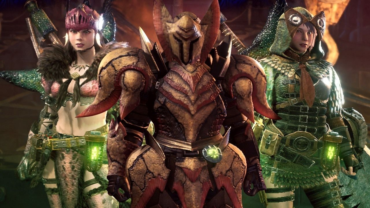 Monster Hunter World Every Armor Set So Far From Alloy To Anja We Ve Got Every Male And Female Armor Set Monster Hunter World Monster Hunter Video Game Heaven