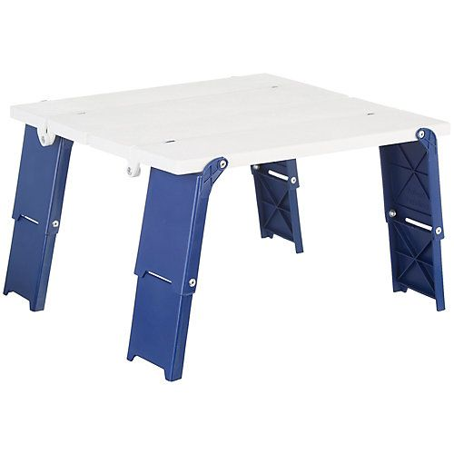 Rio Brands Compact Folding Beach Table With Images Beach