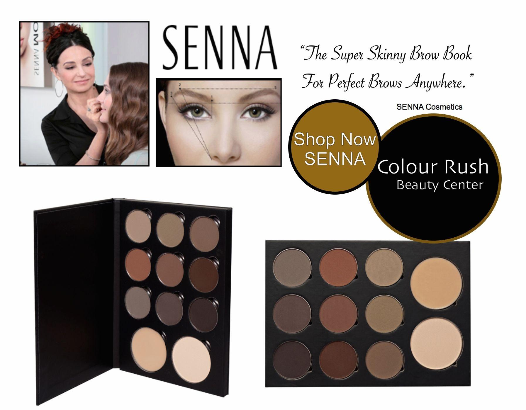 Senna Brow Book For Professional Makeup Artists Senna Cosmetics At