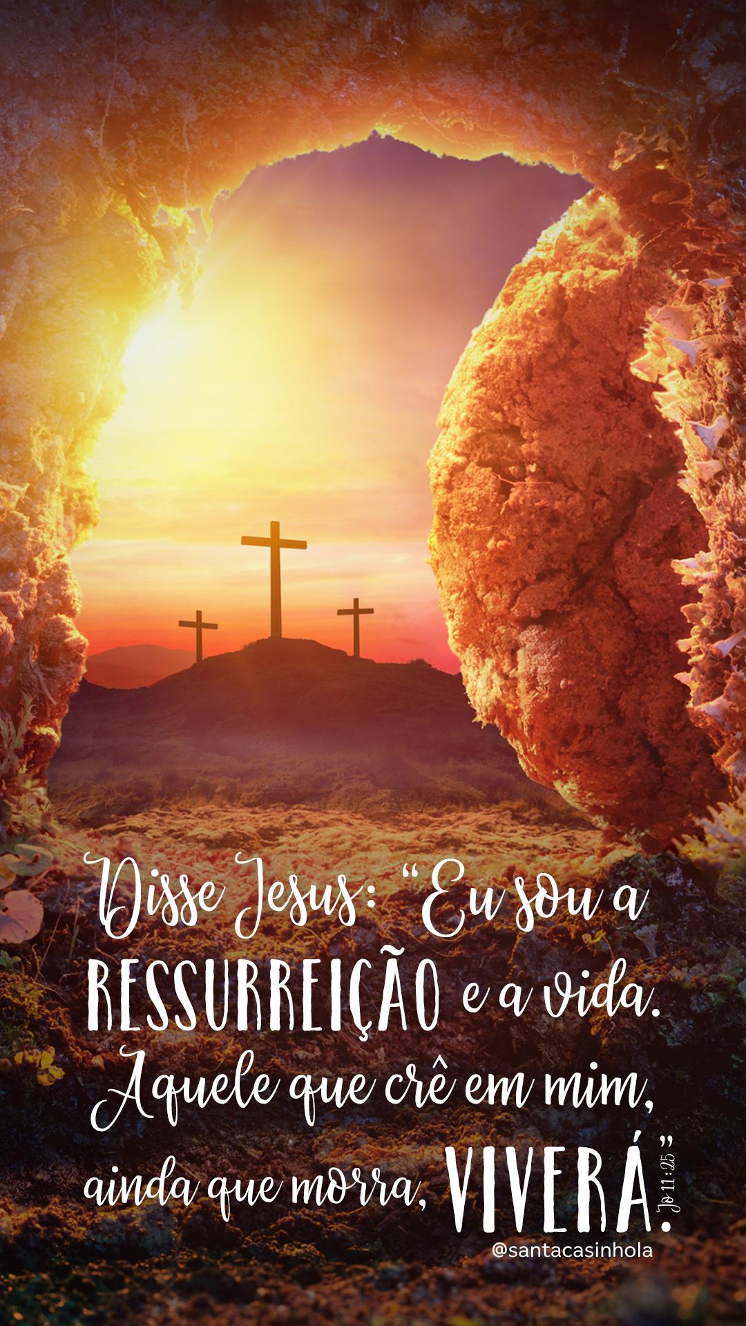 Jesus é o sentido da nossa páscoa ser tão docinha! <3 Mensagem de páscoa #pascoa #pascoa2018 #jesus #ressurreiçãodejesus