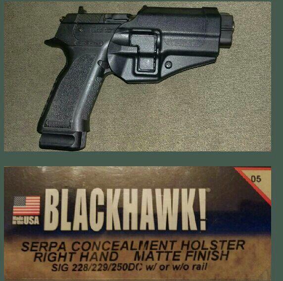 EAA WITNESS PS/ SARSILMAZ B6P FITS IN BLACKHAWK SERPA