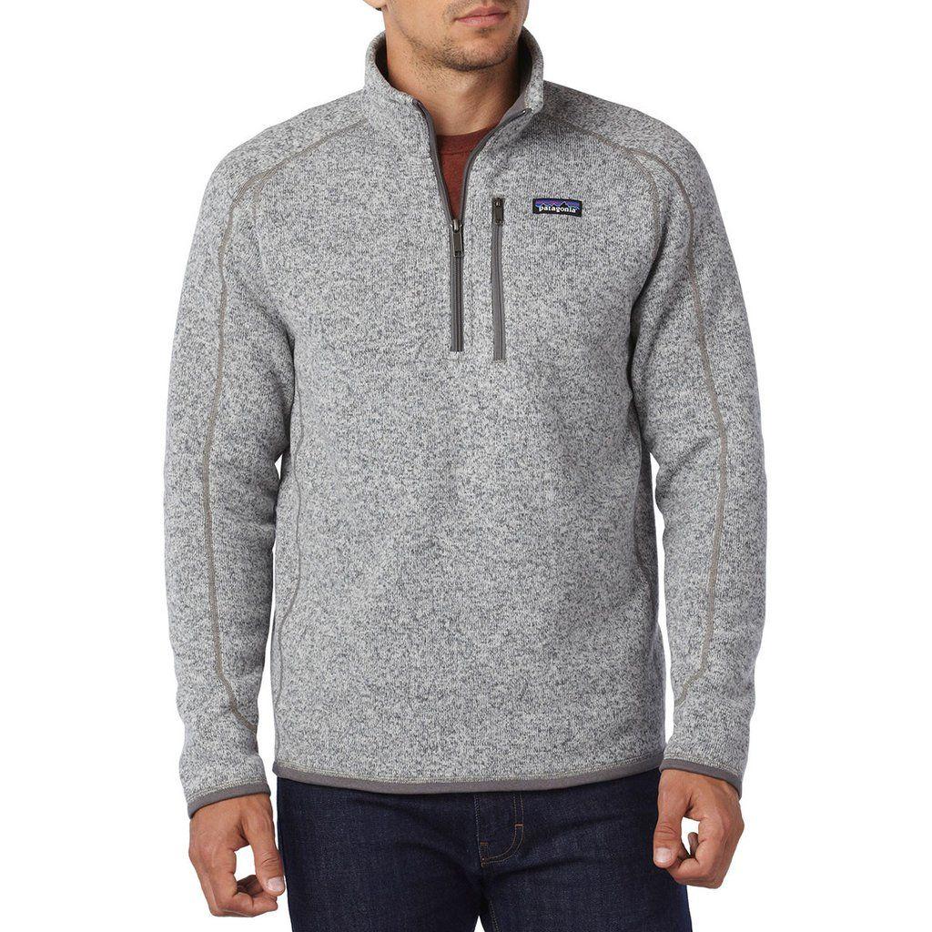 Patagonia Men's Stonewash Better Sweater Quarter Zip in