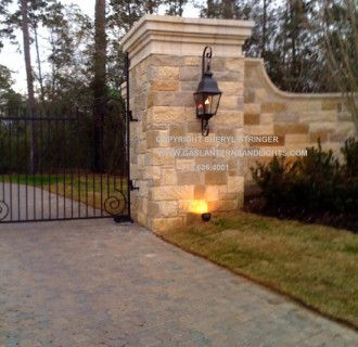 Gas Lights Outdoor Fixtures Natural Heaters