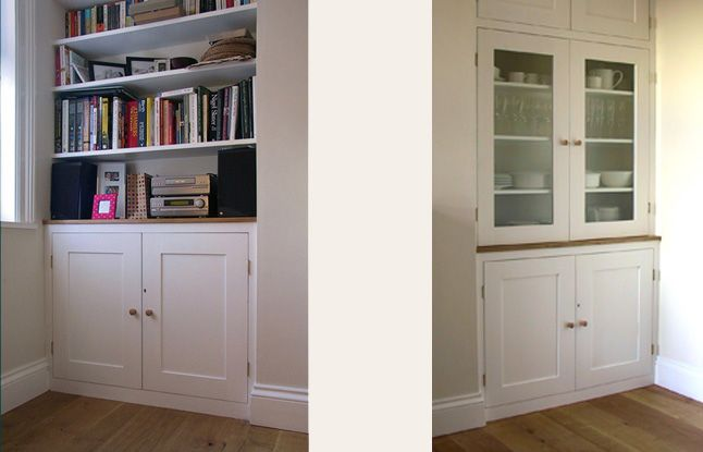 Sideboard Built In Alcove